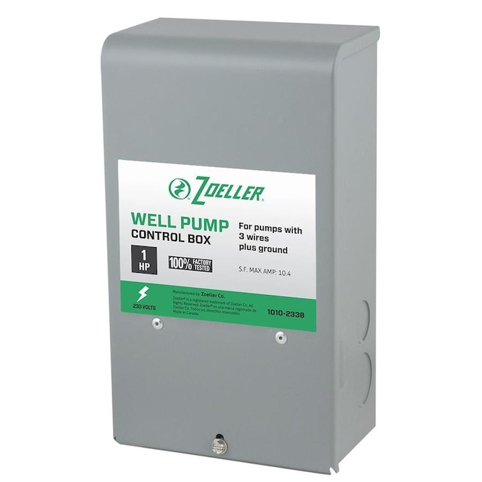 Zoeller Steel Control Box In The Water Pump Accessories Department At Lowes Com