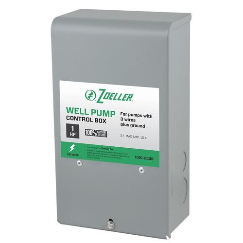 zoeller steel control box lowes