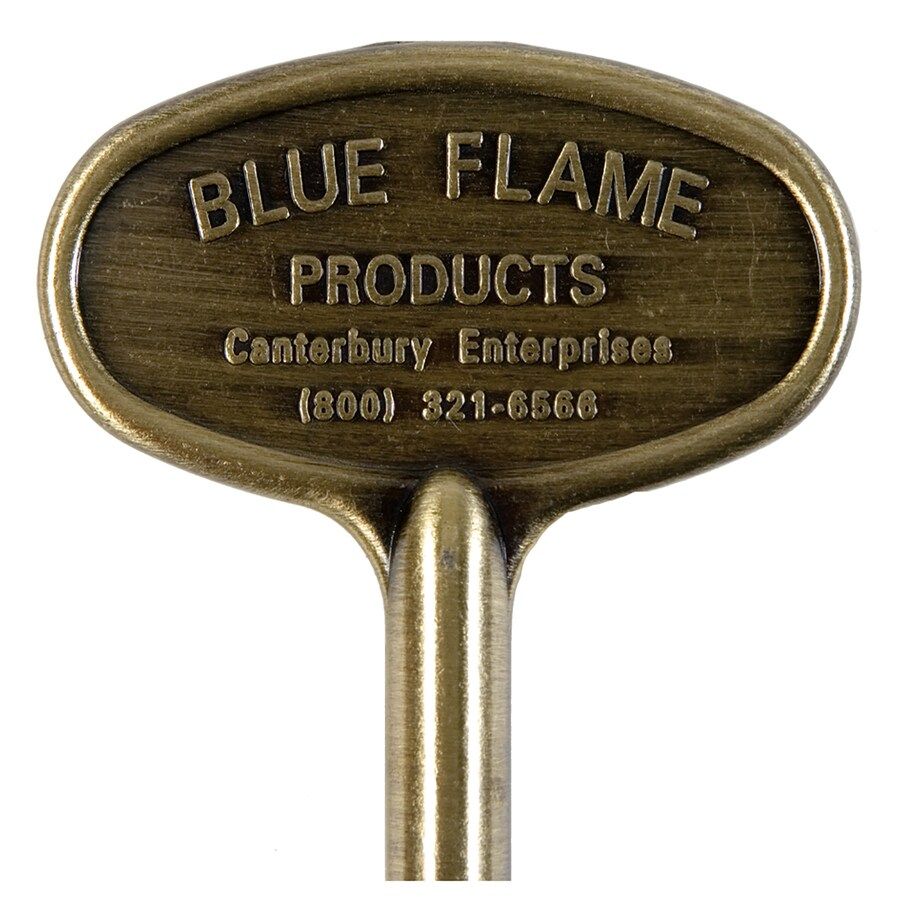 Blue Flame Universal 3-in Satin Chrome Gas Valve Key