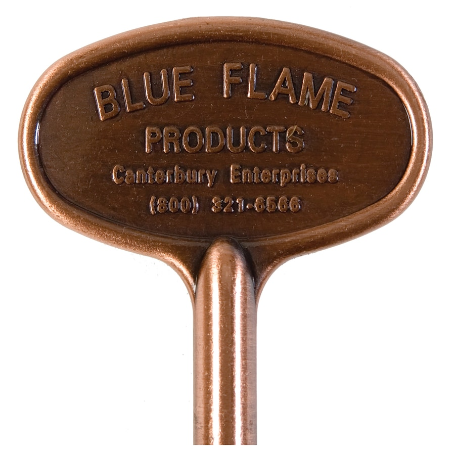 Blue Flame Universal 3-in Antique Copper Gas Valve Key