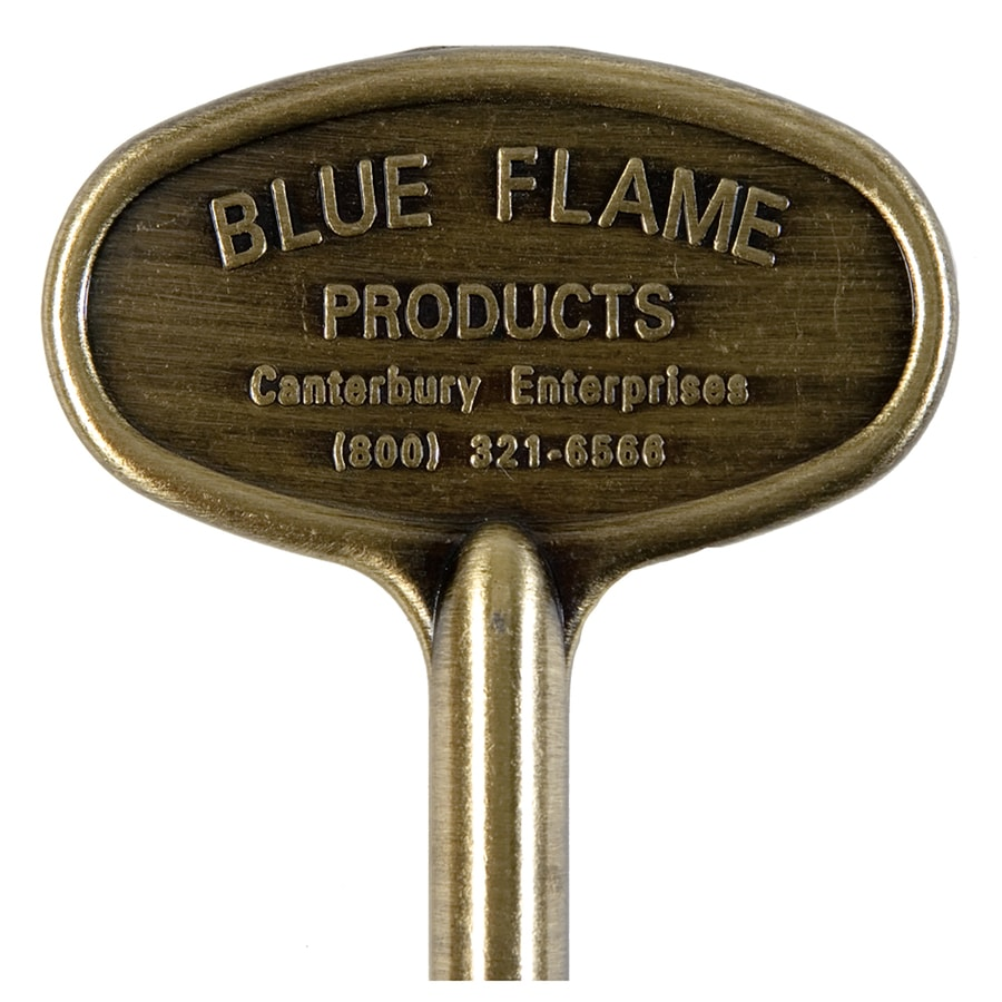 Blue Flame Universal 8-in Antique Brass Gas Valve Key