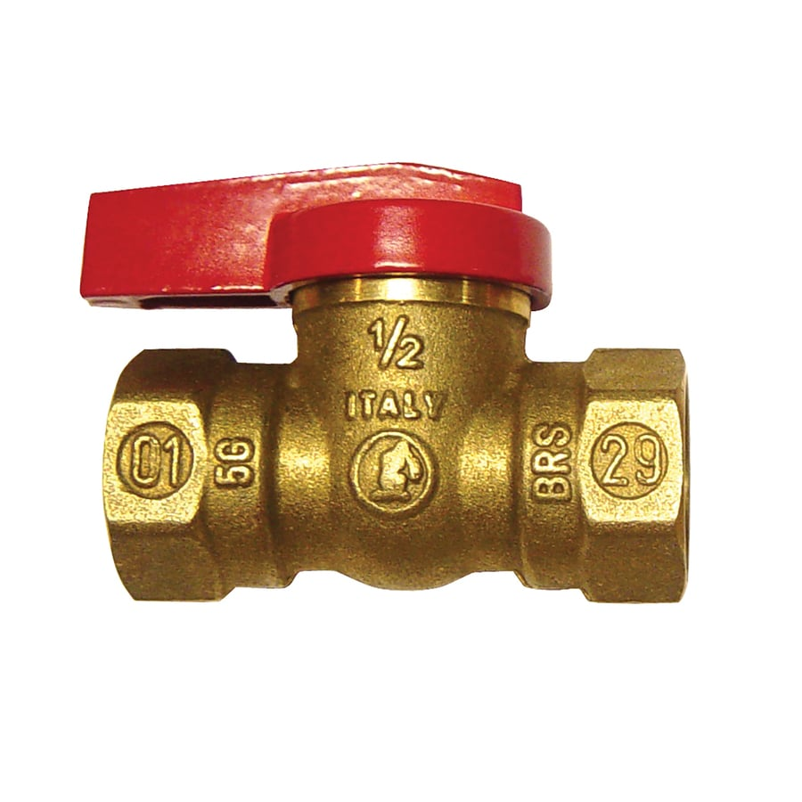 Shop Inline 1 4 Turn Safety Gas Shut Off Valve 0 5 In