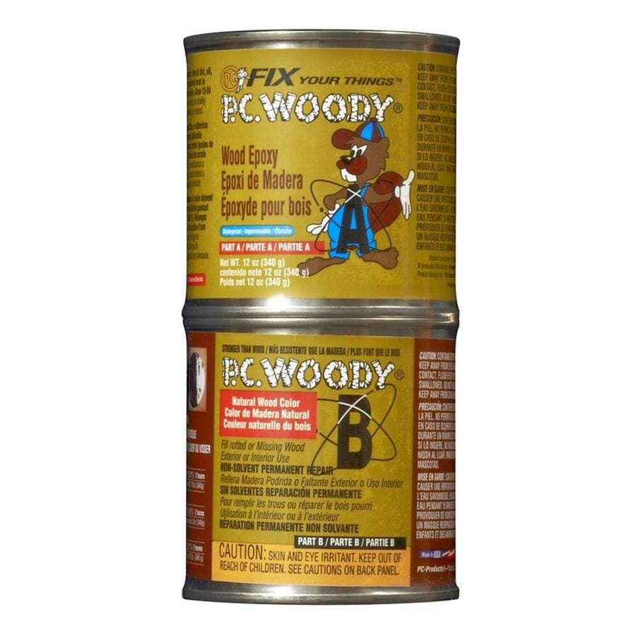 PC Products PC-Woody Epoxy Paste for Wood Repair 12 oz.