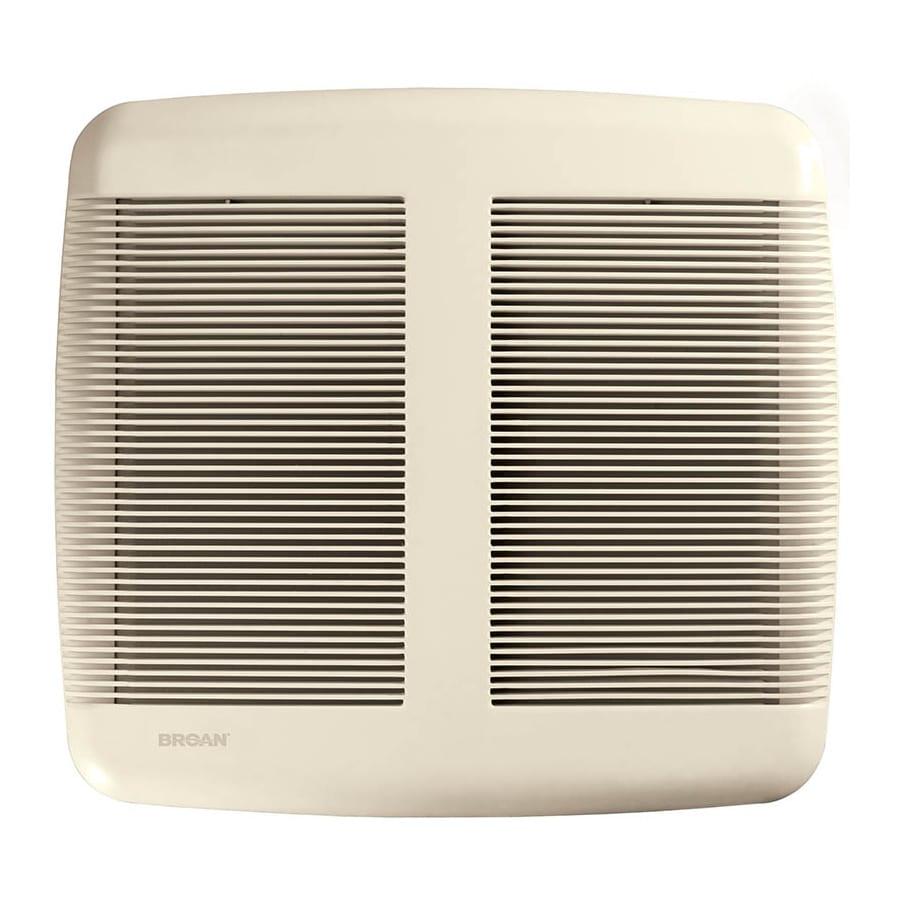 Broan 2.5-Sone 80-CFM Polymeric White Bathroom Fan