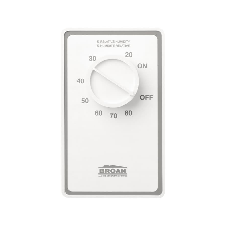 Broan Mechanical Non-Programmable Thermostat