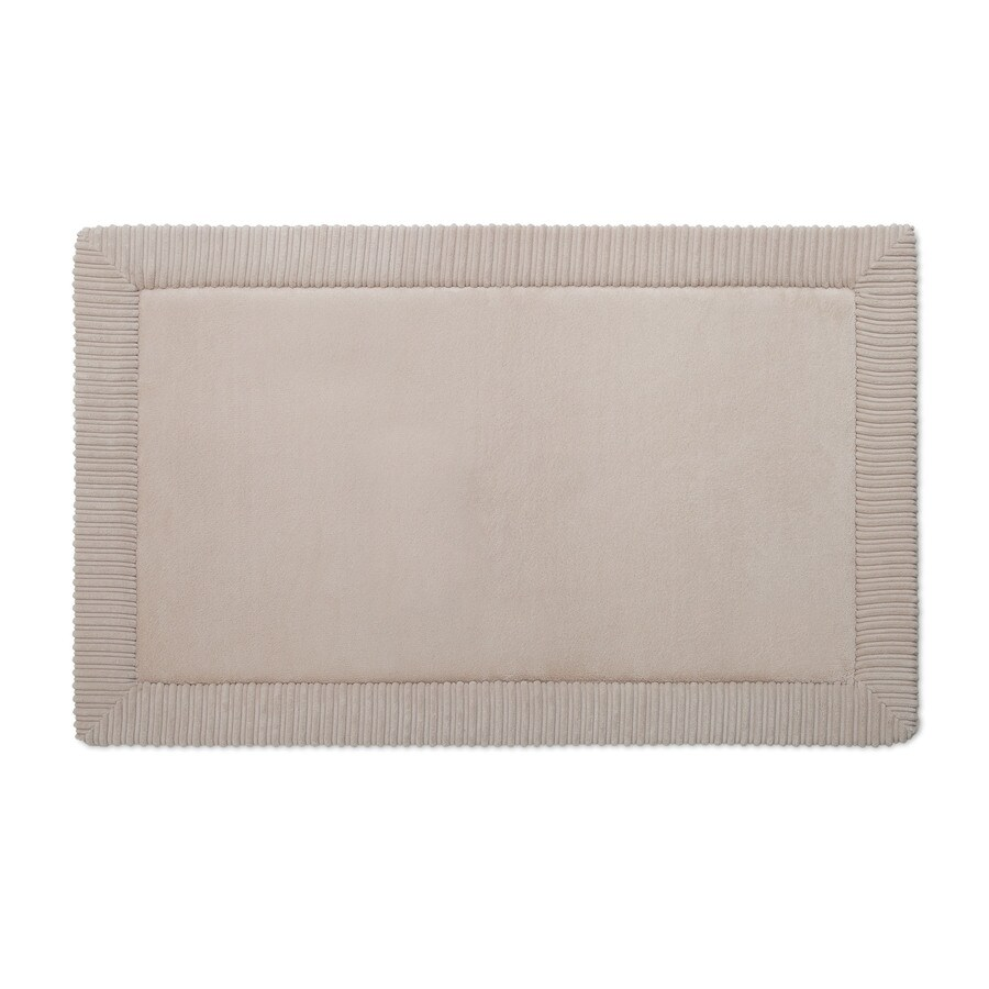 Allen + Roth Romanesque Border 34 In X 21 In Tan Polyester Memory Foam