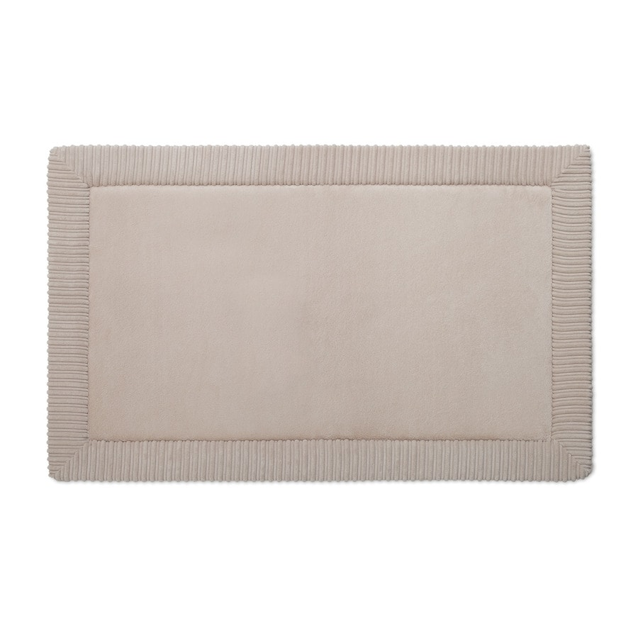Superbe Allen + Roth Romanesque Border 34 In X 21 In Tan Polyester Memory Foam