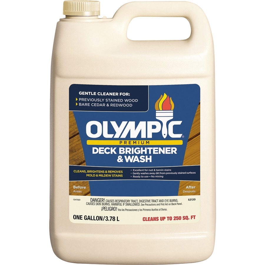 Olympic 128-fl oz Deck Cleaner