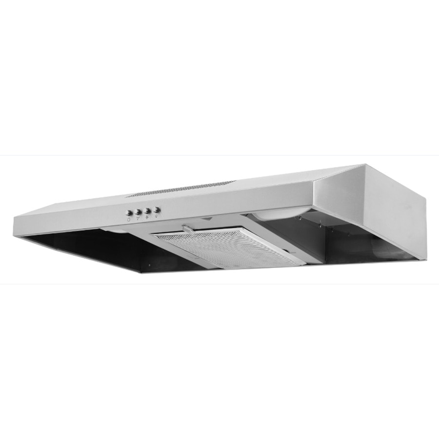 range hood stainless steel common 30in actual - Under Cabinet Range Hood