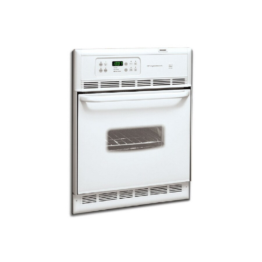 Frigidaire Self-Cleaning Single Electric Wall Oven (White) (Common: 24-in; Actual 23.875-in)