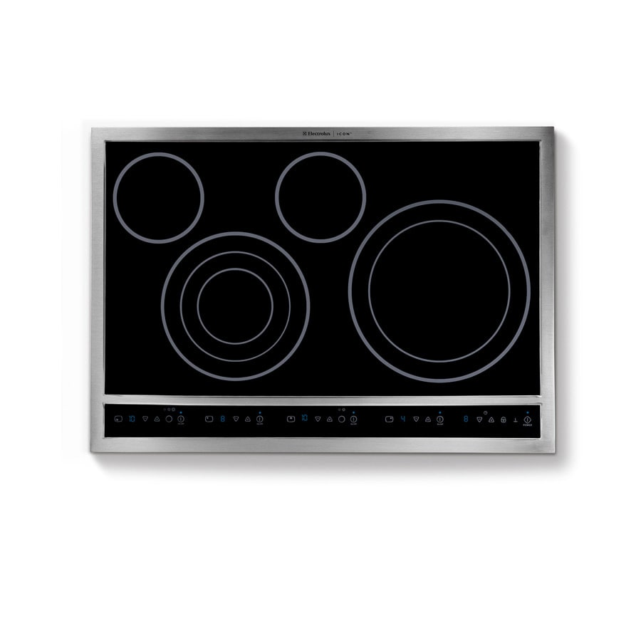 Electrolux Icon 30-in Smooth Surface Electric Cooktop (Stainless)