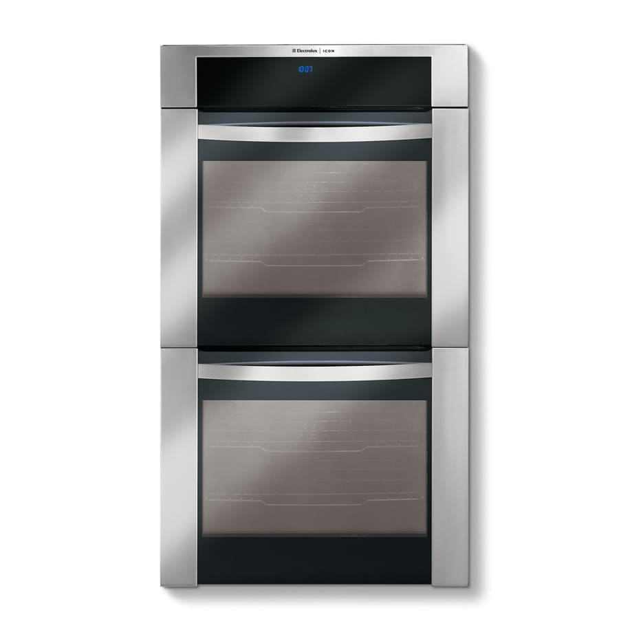 Electrolux Icon 30-in Self-Cleaning Convection Double Electric Wall Oven (Stainless Steel)