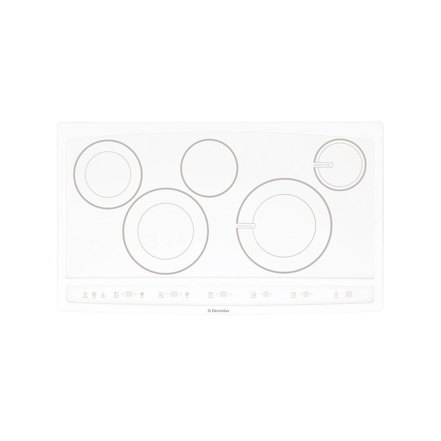 Lowes cooktops 36 inch - Electrolux 36 Inch Smooth Surface Electric Cooktop Color White