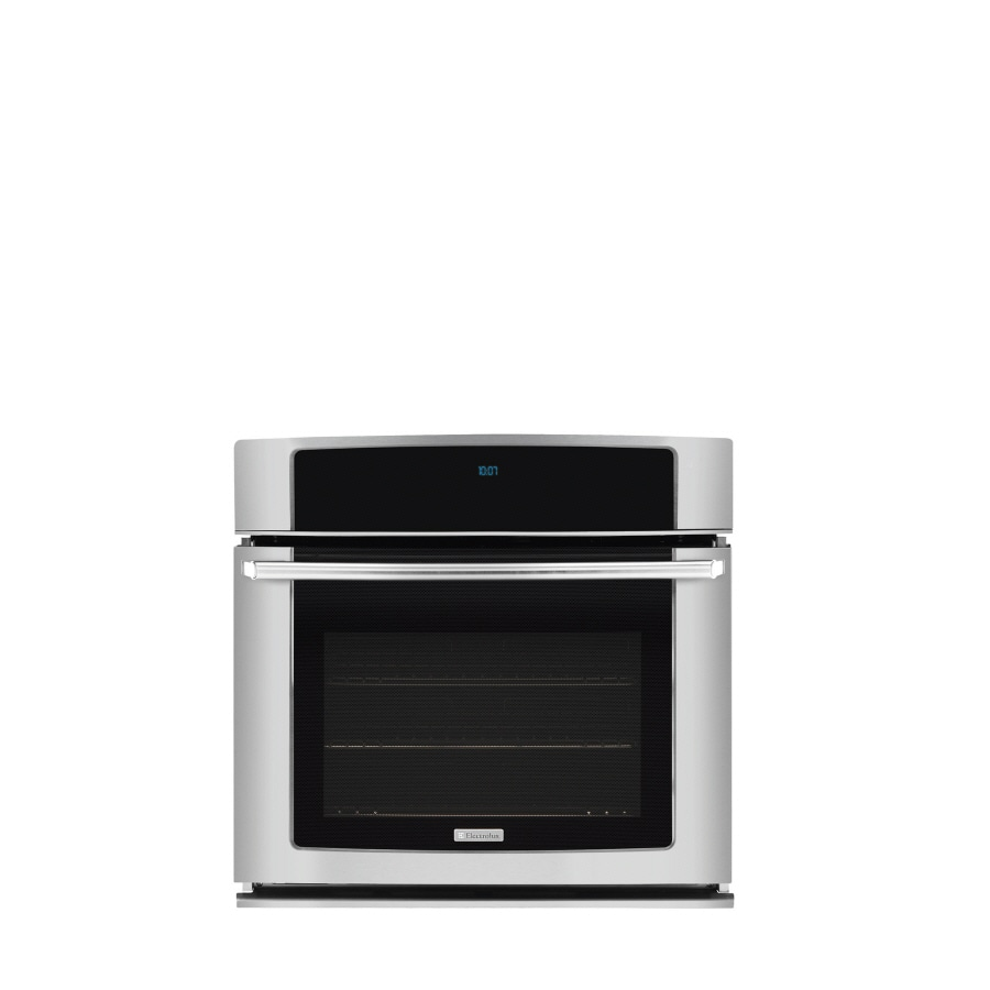 Electrolux Self Cleaning Convection Single Electric Wall Oven Stainless Common 30