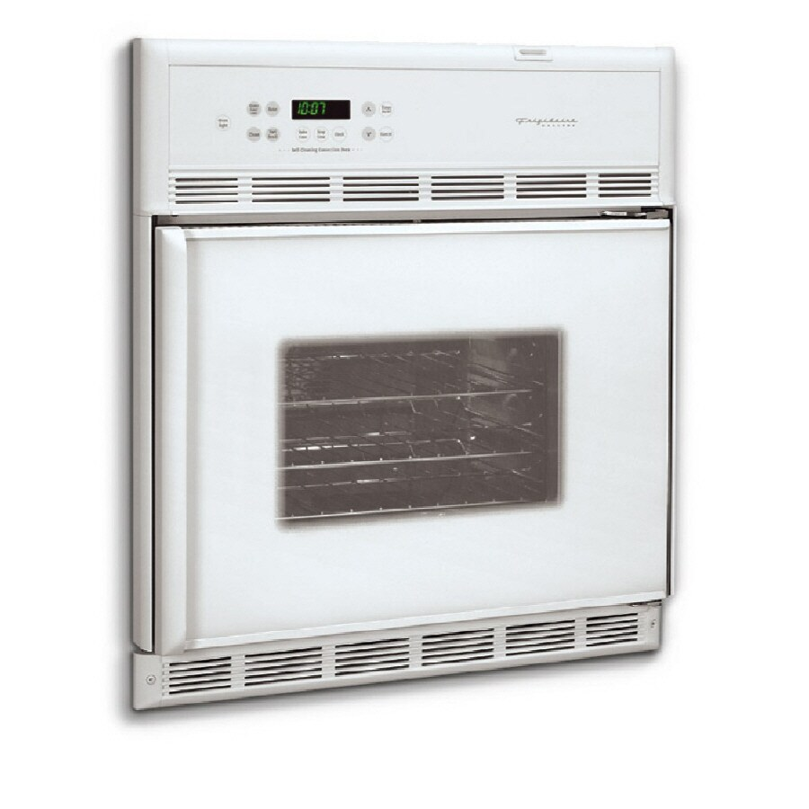Frigidaire Gallery 27-in Convection Single Electric Wall Oven (White)