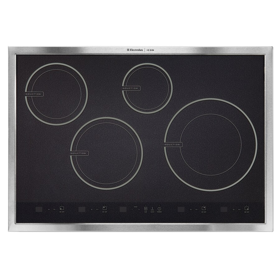 Electrolux Icon Smooth Surface Induction Electric Cooktop (Stainless) (Common: 30-in; Actual 30.75-in)