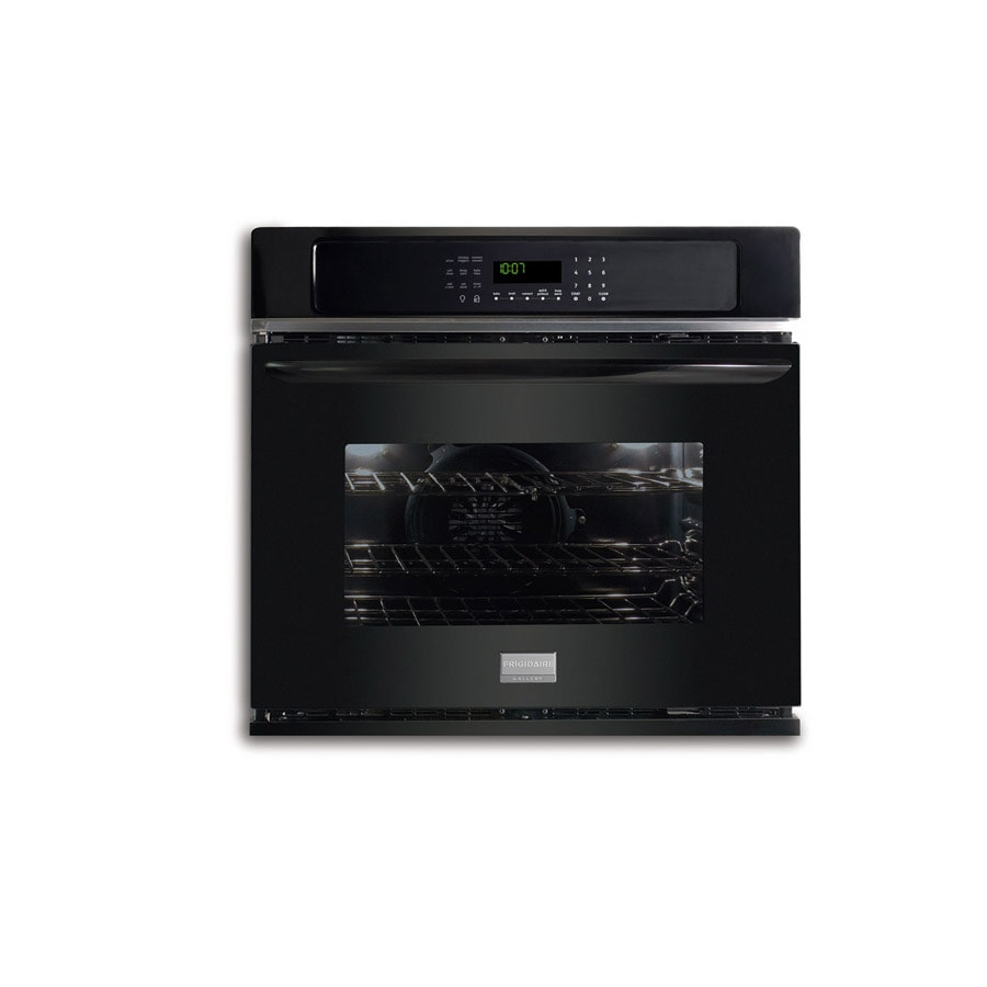 Frigidaire Gallery 27-in Self-Cleaning Convection Single Electric Wall Oven (Black)