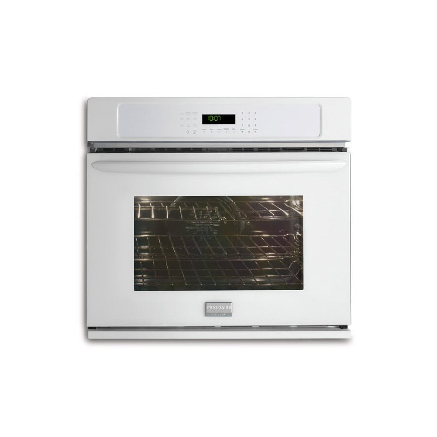 Frigidaire Gallery 27-in Self-Cleaning Convection Single Electric Wall Oven (White)