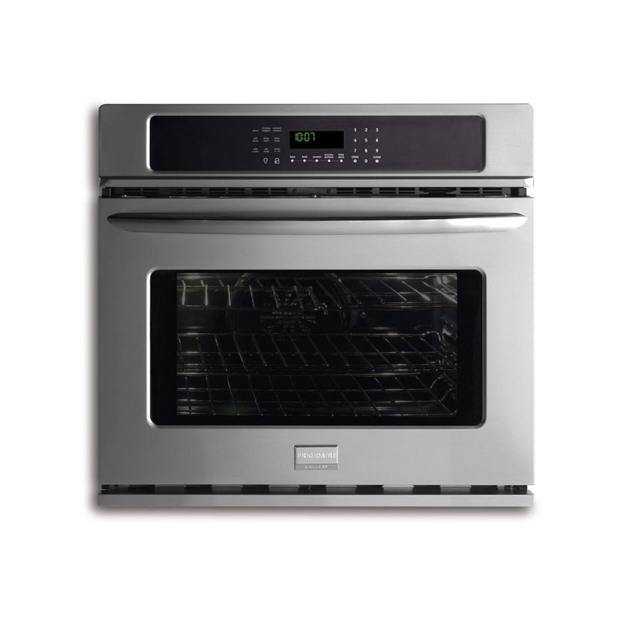 Frigidaire Gallery 27-in Self-Cleaning Convection Single Electric Wall Oven (Stainless)