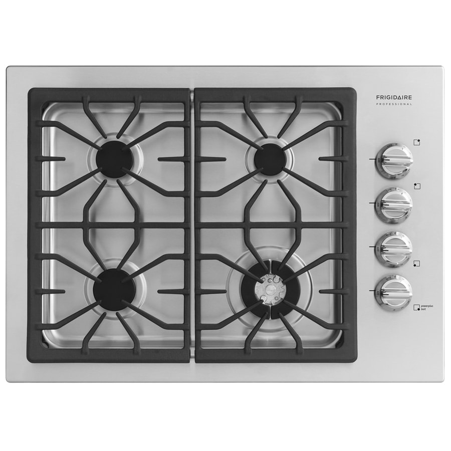 Frigidaire Professional 4-Burner Gas Cooktop (Stainless) (Common: 30-in; Actual 30-in)