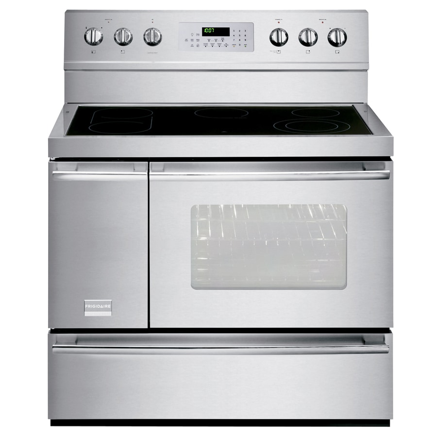 Beautiful 40 Inch Electric Range Part - 7: Frigidaire Professional 40-in Smooth Surface 6-Element 3.7-cu Ft/1.7