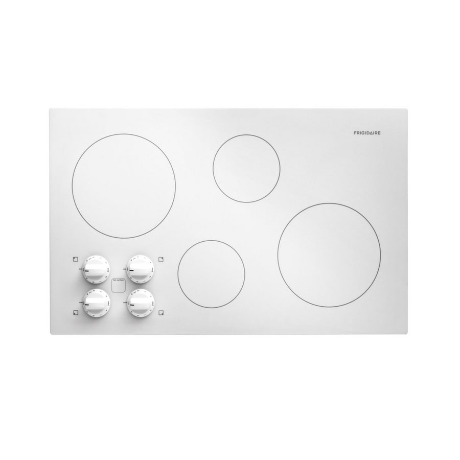 Frigidaire 32 Inch Smooth Surface Electric Cooktop Color White