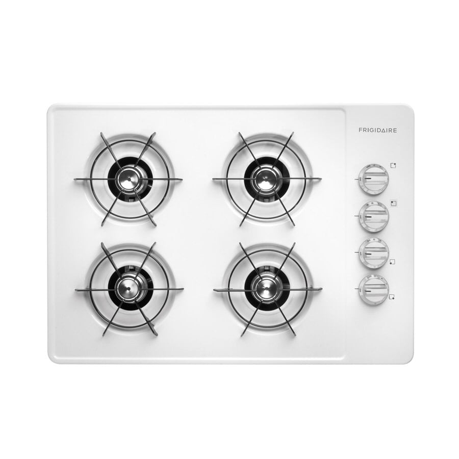 Frigidaire Gas Cooktop (White) (Common: 30-in; Actual: 30-in)