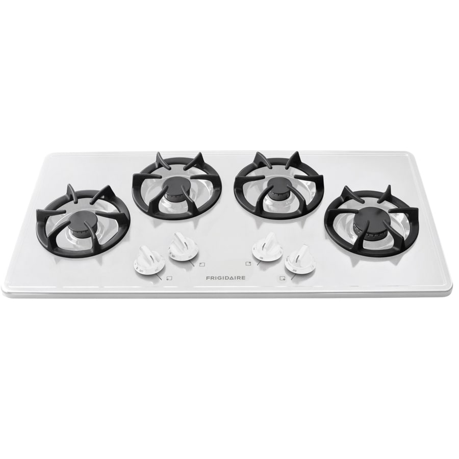 Frigidaire Gas Cooktop (White) (Common: 36-in; Actual: 36-in)