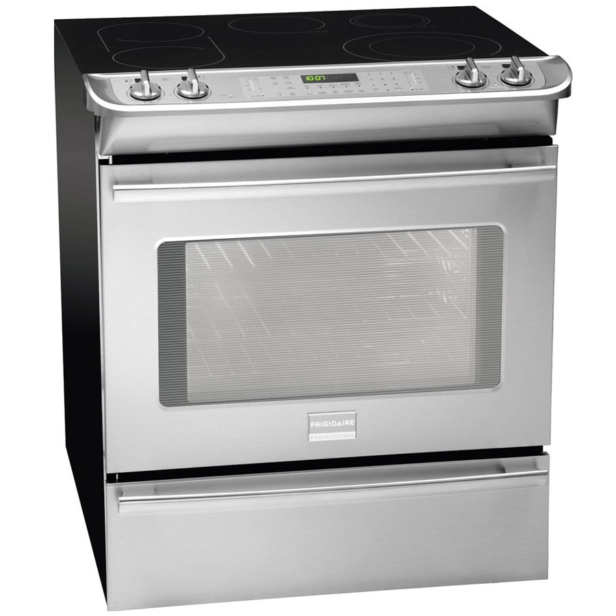 Frigidaire 30-Inch Slide-In Electric Range (Color: Stainless Steel)