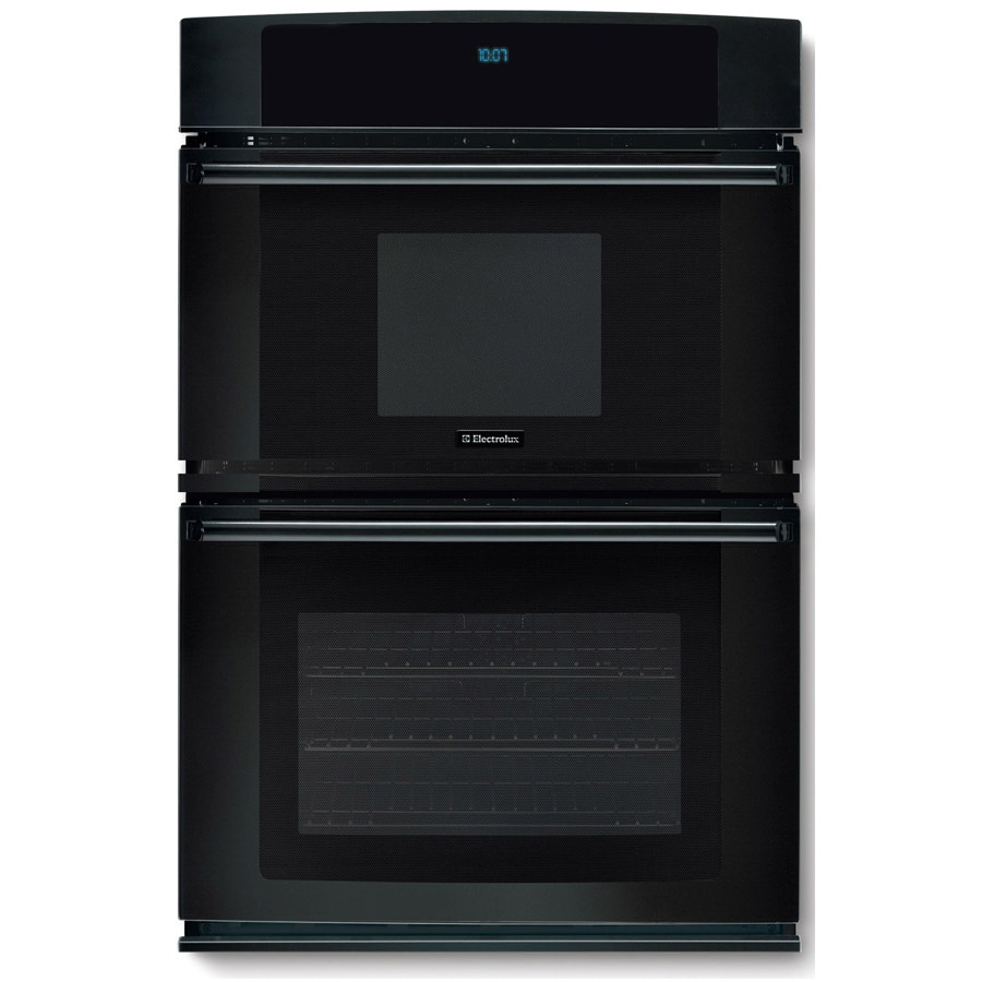 Electrolux 27-in Self-Cleaning Microwave Wall Oven Combo (Black)