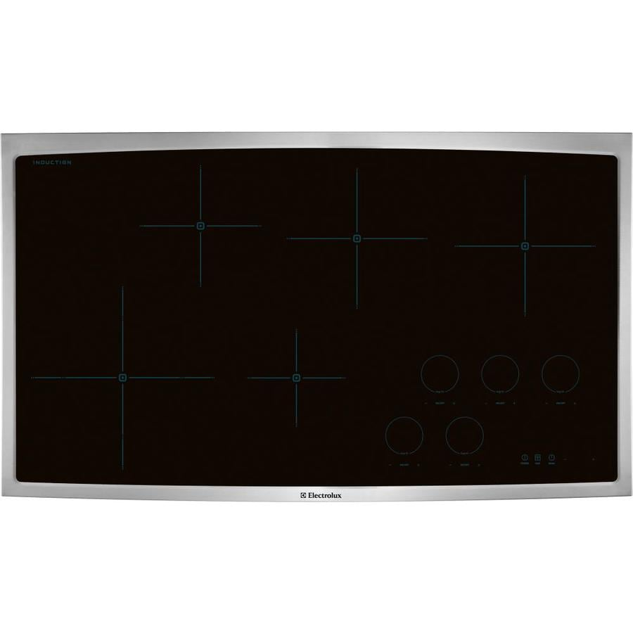 Electrolux 5-Element Smooth Surface Induction Electric Cooktop (Stainless Steel) (Common: 36-in; Actual 36.75-in)