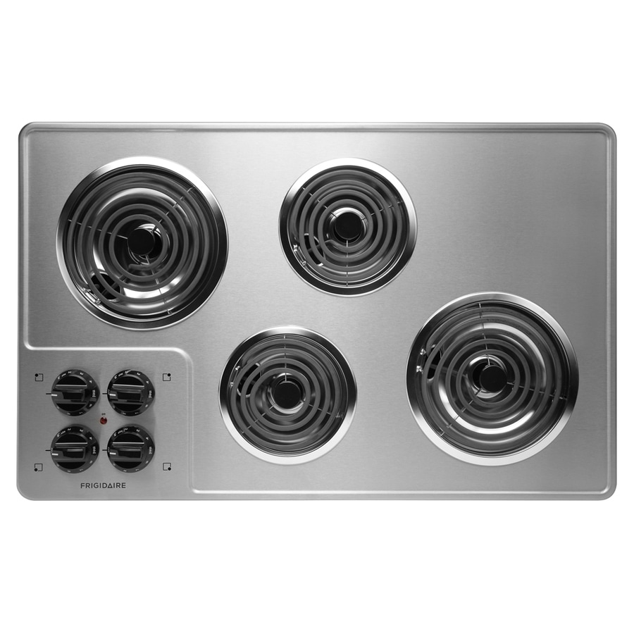 Frigidaire Coil Electric Cooktop (Stainless Steel) (Common: 32-in; Actual 32.25-in)
