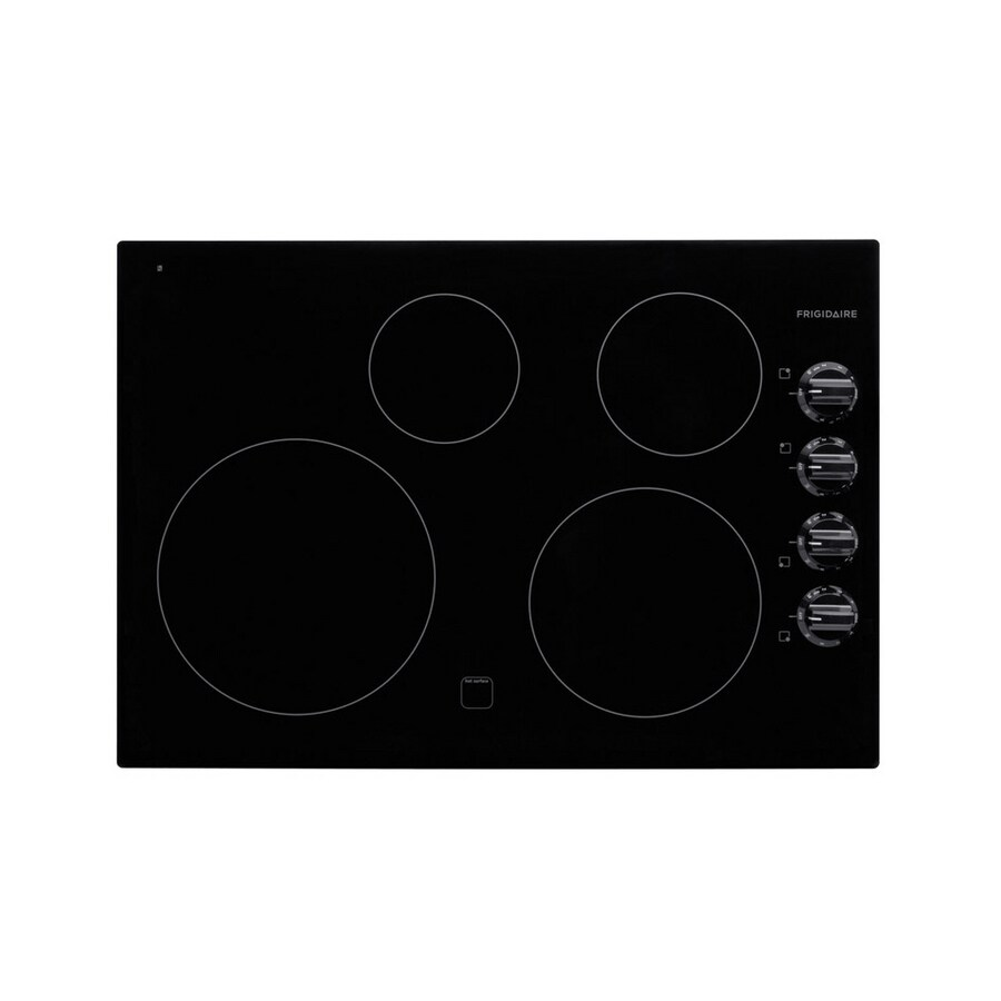 Frigidaire Smooth Surface Electric Cooktop (Black) (Common: 30-in; Actual 30.34-in)