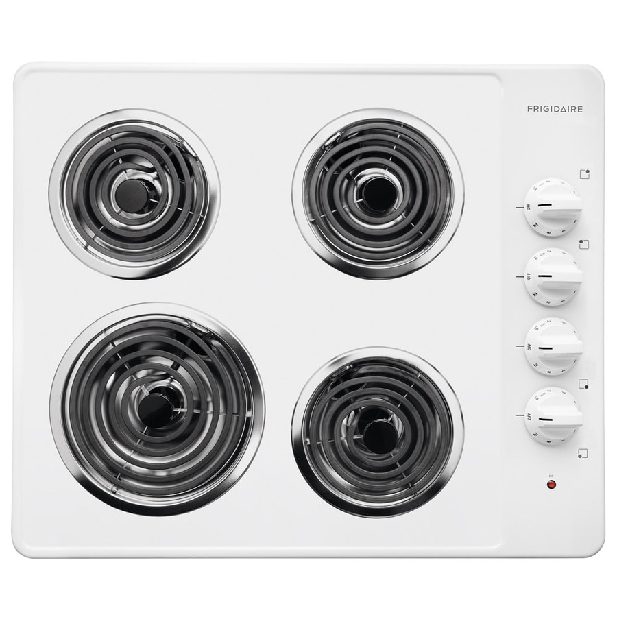 Frigidaire Electric Cooktop (White) (Common: 26-in; Actual 25.75-in)