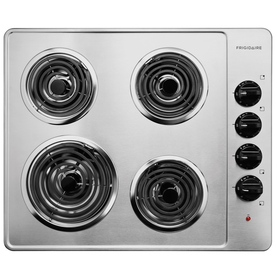 Frigidaire Electric Cooktop (Stainless Steel) (Common: 26-in; Actual 25.75-in)