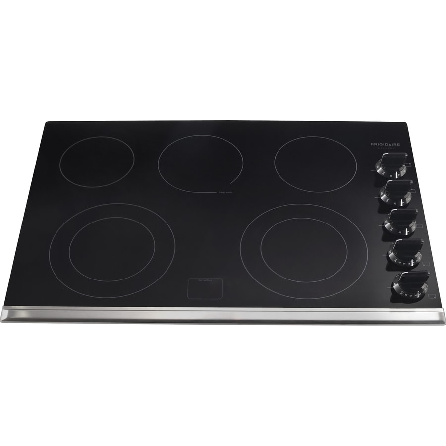 Frigidaire 3067 Series 5-Element Smooth Surface Electric Cooktop (Black) (Common: 30-in; Actual 30.38-in)