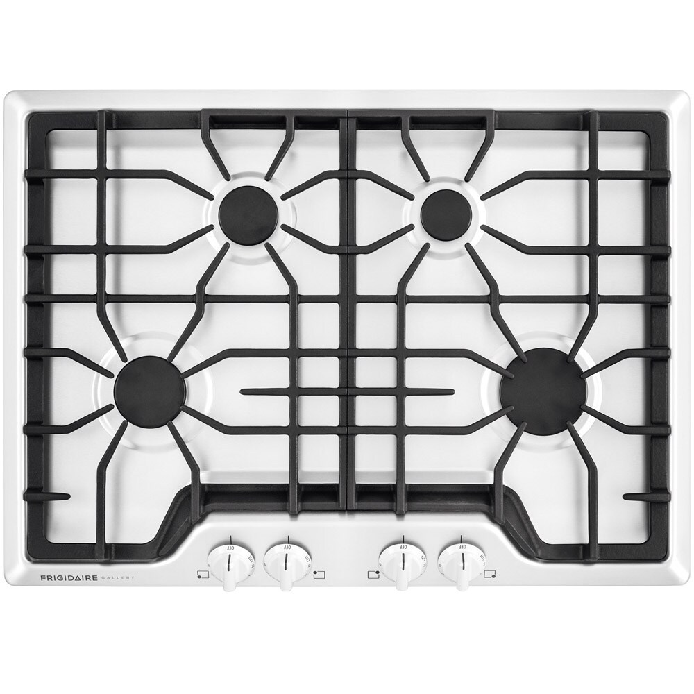 Frigidaire Gallery Gas Cooktop (White) (Common: 30-in; Actual: 30-in)