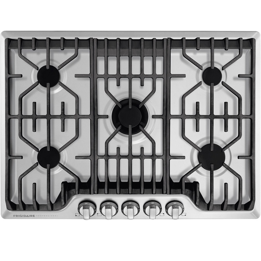 Frigidaire Professional 5-Burner Gas Cooktop (Stainless Steel) (Common: 30-in; Actual: 30-in)