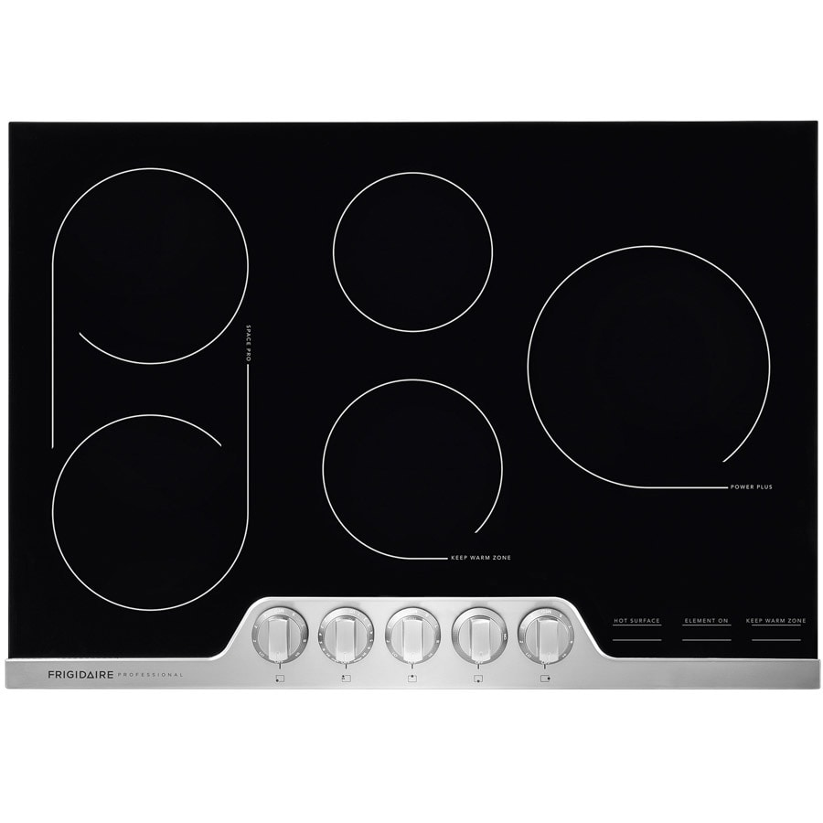 Frigidaire Professional 5-Element Smooth Surface Electric Cooktop (Stainless Steel) (Common: 30-in; Actual 30.375-in)