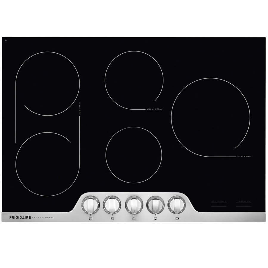 Frigidaire Professional 5-Element Smooth Surface Electric Cooktop (Stainless Steel) (Common: 36-in; Actual 36.75-in)