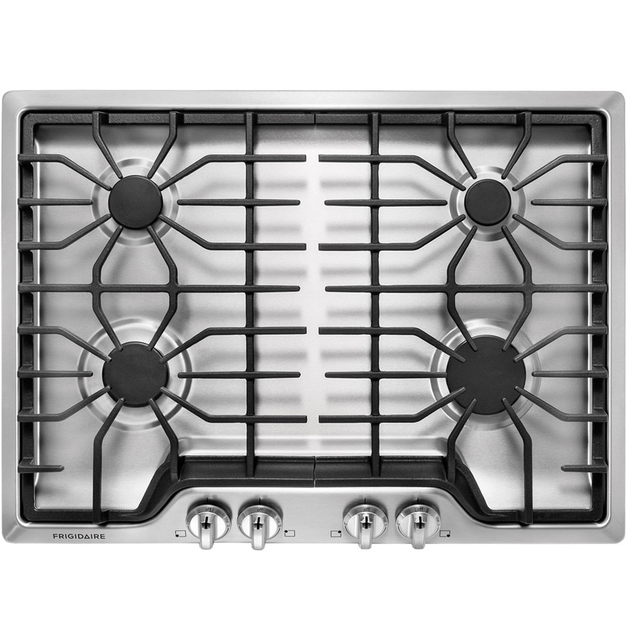 Frigidaire Gas Cooktop (Stainless Steel) (Common: 30-in; Actual: 30-in)