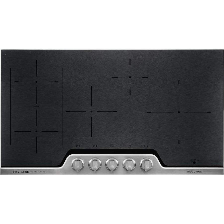 Frigidaire Professional 5-Element Smooth Surface Induction Electric Cooktop (Stainless Steel) (Common: 36-in; Actual 36-in)