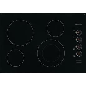 Frigidaire 30 In Smooth Surface Radiant Black Electric Cooktop Common