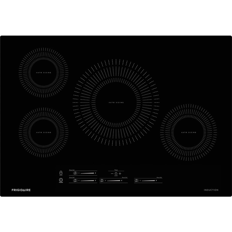 Shop Frigidaire 4 Element Induction Cooktop Black Common 30 In Heater Diagram Free Download Wiring Schematic