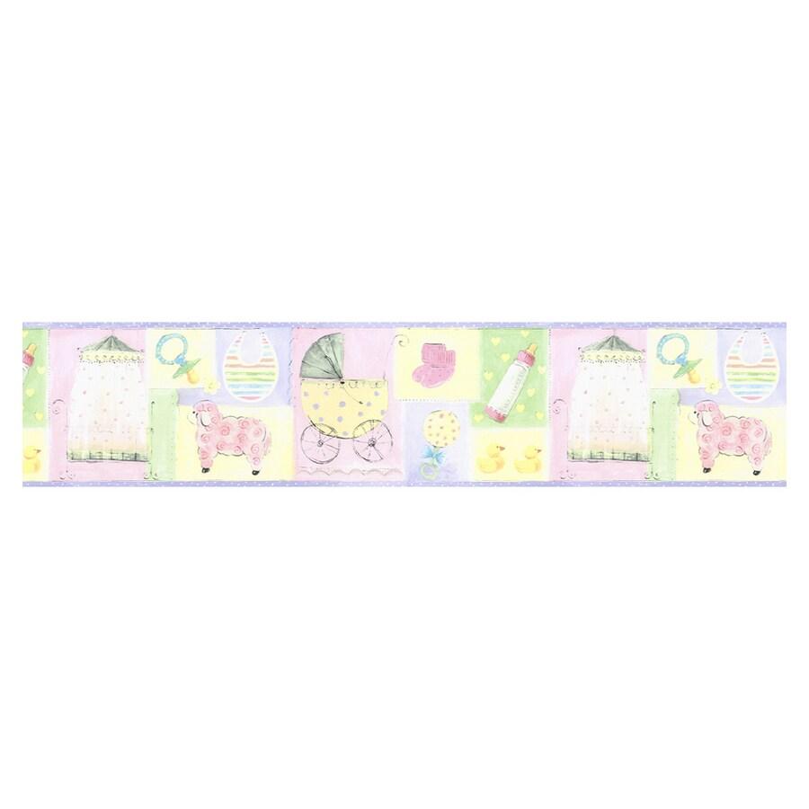 Norwall Nursery Wallpaper Border
