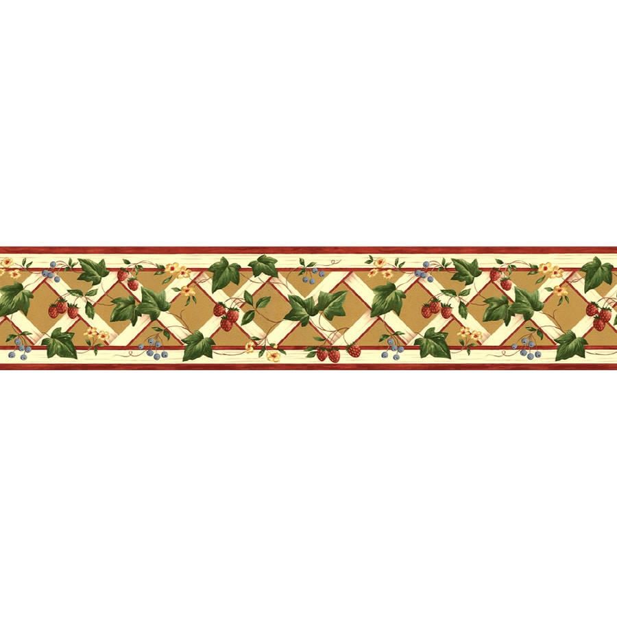 Shop Norwall 7 In Prepasted Wallpaper Border At Lowes Com