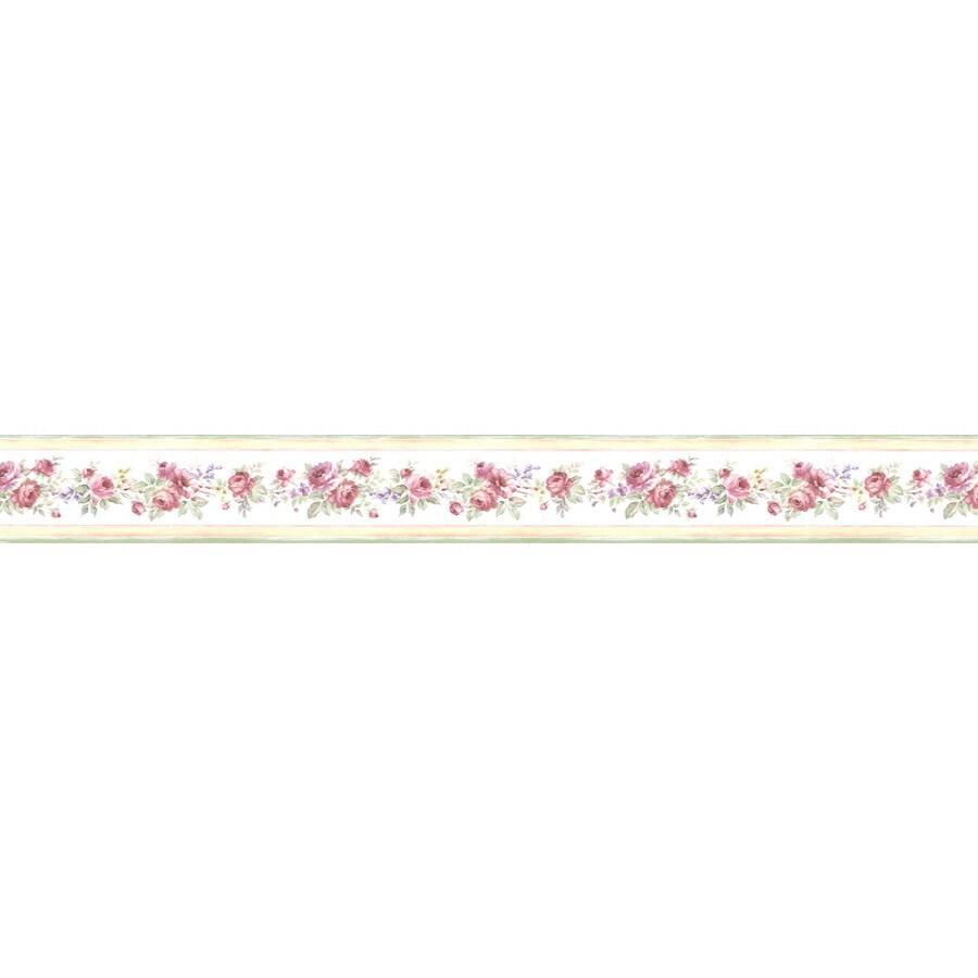 shop norwall 3 5 in prepasted wallpaper border at