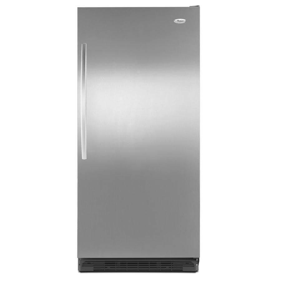 Whirlpool 17.7-cu ft Freezerless Refrigerator (Stainless Steel) ENERGY STAR