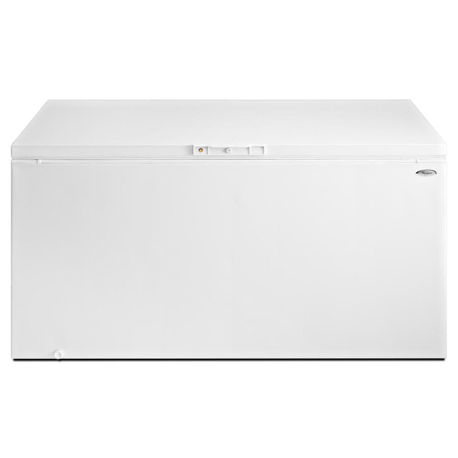 Whirlpool 21.7-cu ft Chest Freezer with Temperature Alarm (White) ENERGY STAR