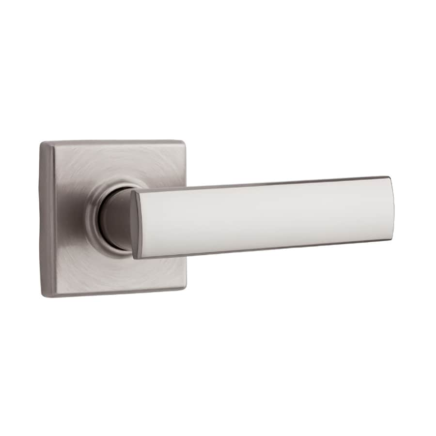 Kwikset Signature Vedani Satin Nickel Passage Door Lever